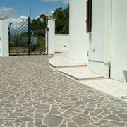 Esempio di pavimentazione in porfido - Marmibianco.com