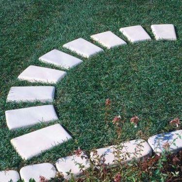 realizzare camminamenti in giardino - Pavimento da esterni - ecco come ...