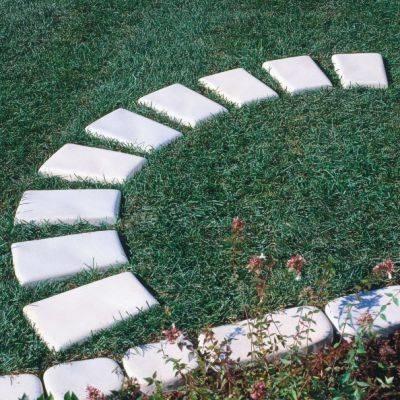 creativo pavimento Giardino : realizzare camminamenti in giardino - Pavimento da esterni - ecco come ...