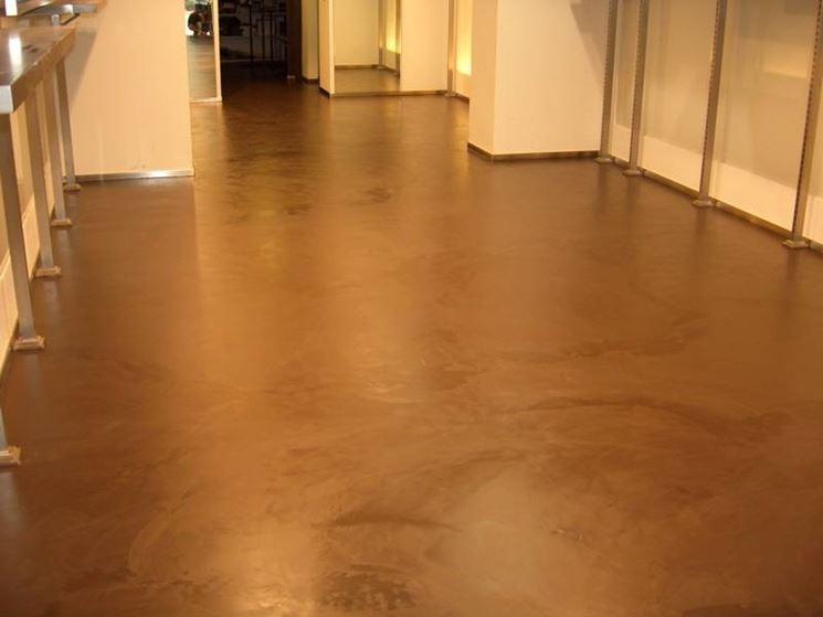 Pavimenti decorativi in resina pavimento da interni i for Pavimento in resina pro e contro