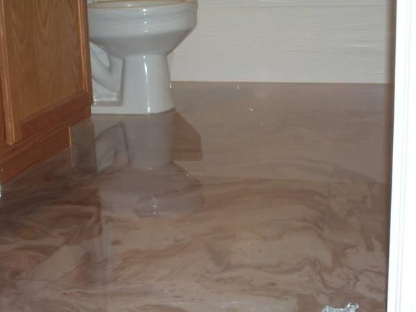 Pavimenti decorativi in resina pavimento da interni i - Pavimenti in resina bagno ...
