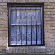 esempio di inferriata per finestra