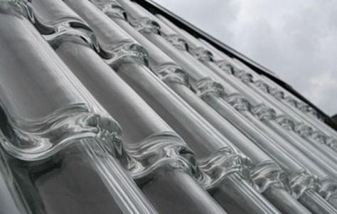 Tegole trasparenti in policarbonato