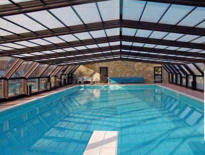 Coperture telescopiche per piscine coprire il tetto le for Riparare piscina