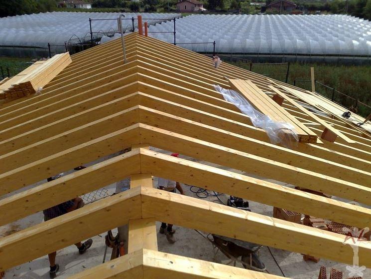 Modelli di coperture in legno lamellare coprire il tetto for Tetti in legno particolari costruttivi