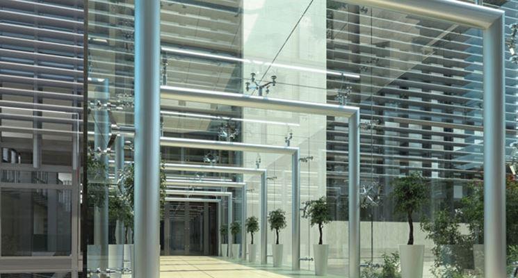 coperture vetro palazzo