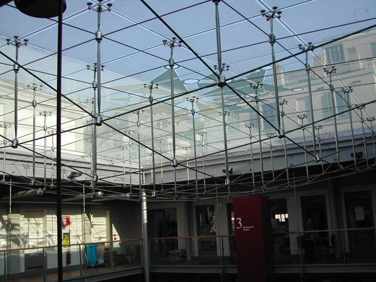 copertura in vetro ospedale