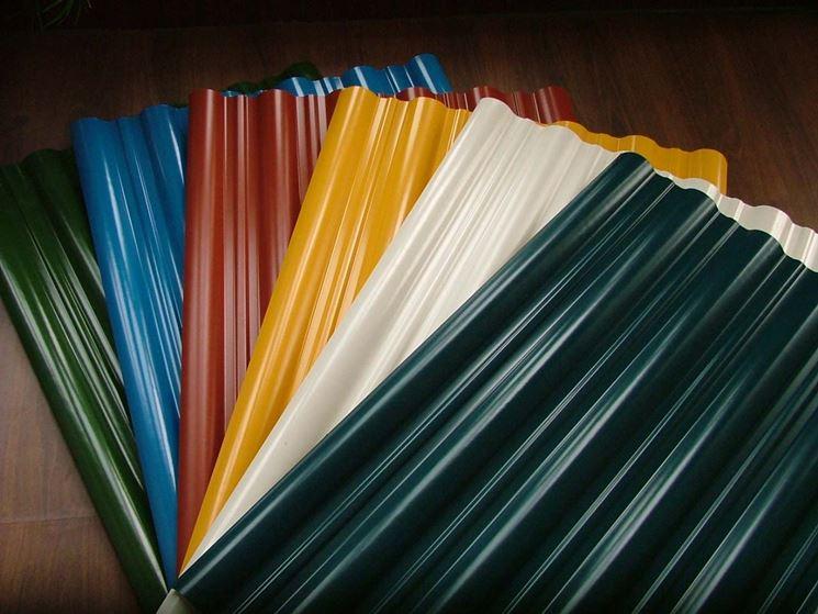 Lamiere in alluminio colorato