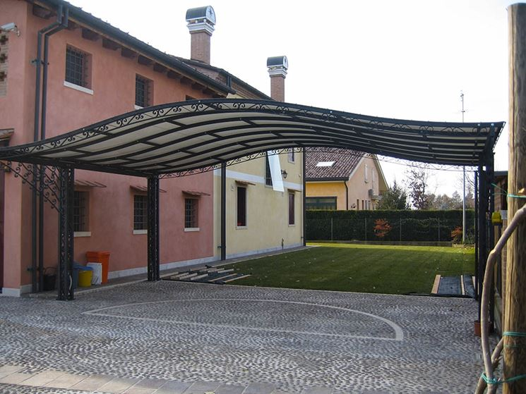 Modelli di coperture per tettoie - Coprire il tetto - Tipologie coperture tettoie