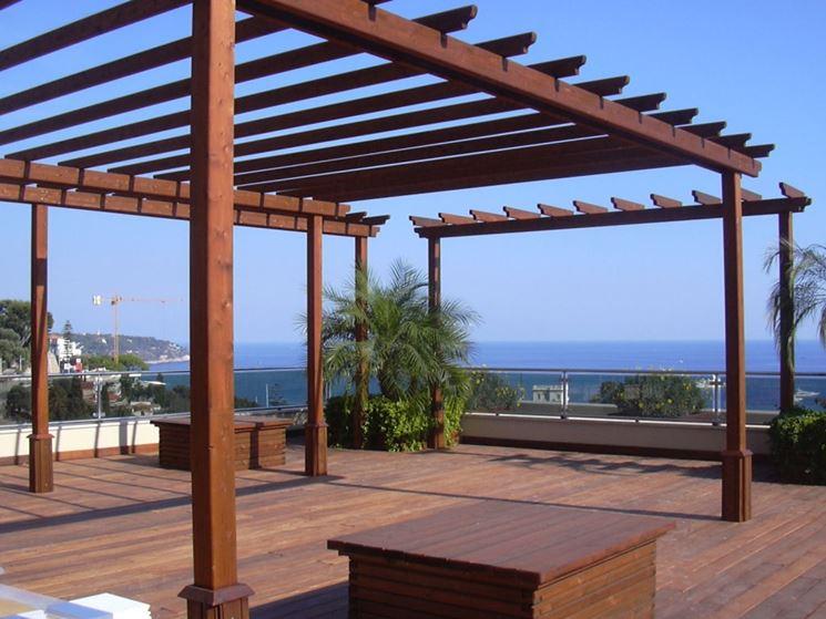 Realizzare coperture per esterni coprire il tetto come for Prezzo per costruire un garage