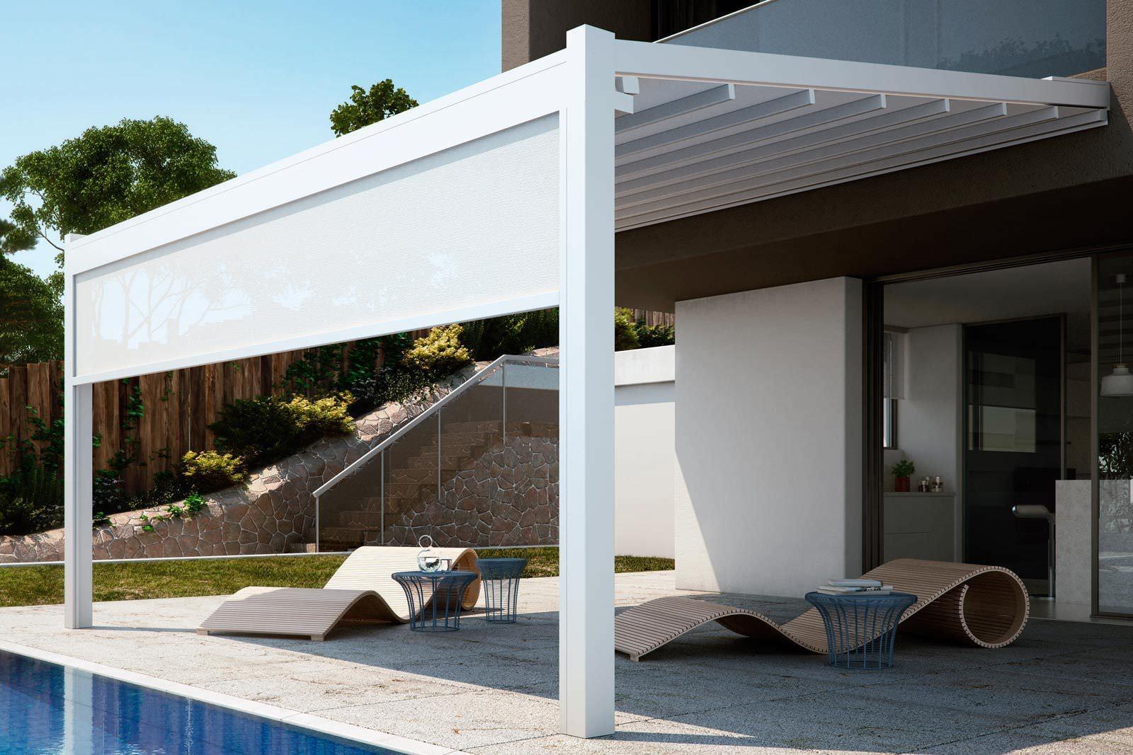 Realizzare coperture terrazzi - Coprire il tetto - Come realizzare la copertura per il terrazzo