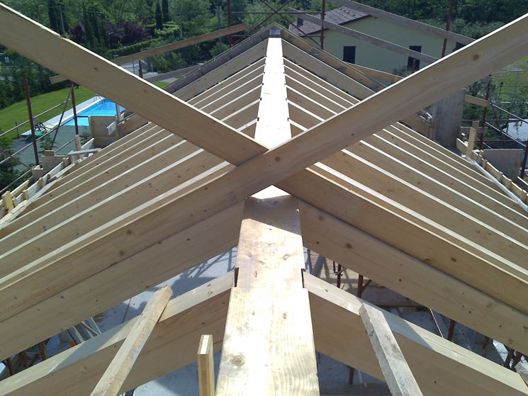 Tipologie di copertura tetto ventilato coprire il tetto for Tetti in legno particolari costruttivi