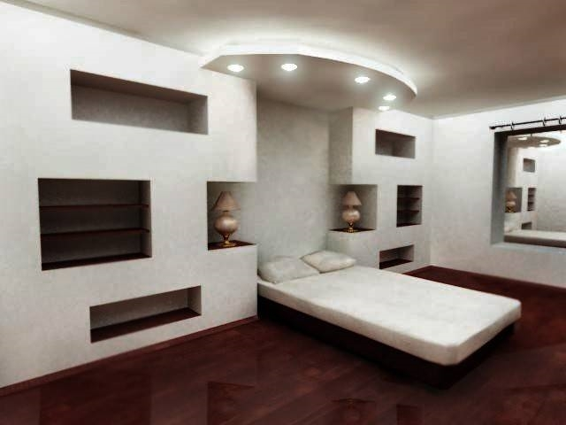disegno idea » camere da letto in cartongesso - idee popolari per ... - Cartongesso In Camera Da Letto