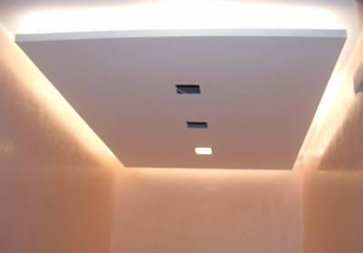 Come realizzare controsoffitti moderni il controsoffitto for Controsoffitto soggiorno