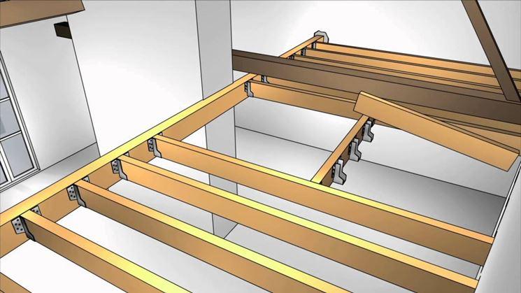 Come realizzare un soppalco fai da te il controsoffitto - Soppalco in legno autoportante ...