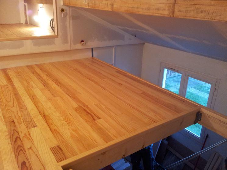 Come realizzare un soppalco fai da te il controsoffitto soppalco fai da te - Letto legno fai da te ...