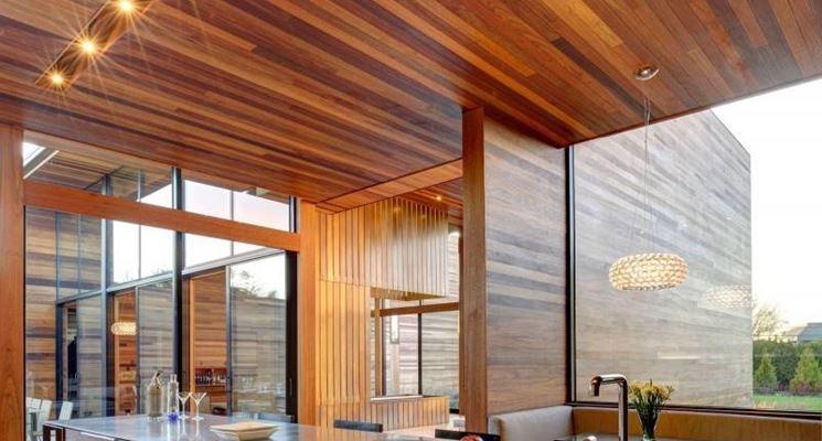 Controsoffitti in legno   il controsoffitto   quali sono i ...
