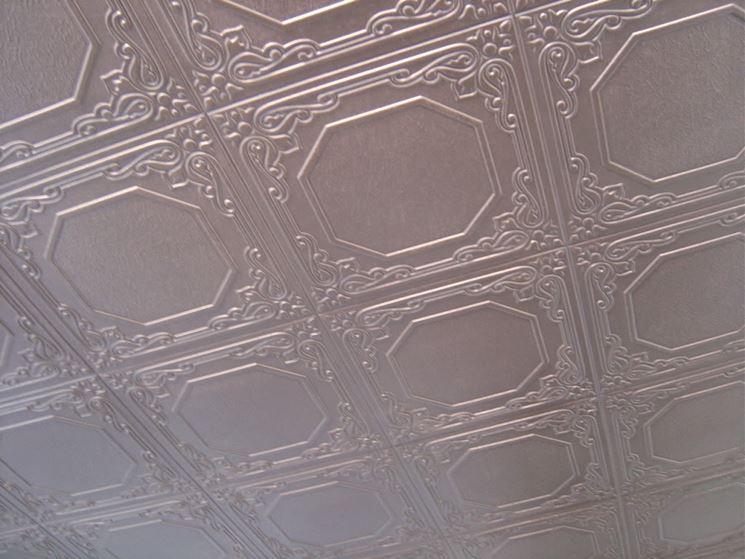 Soffitto polistirolo pannelli termoisolanti for Pannelli in polistirolo per soffitti