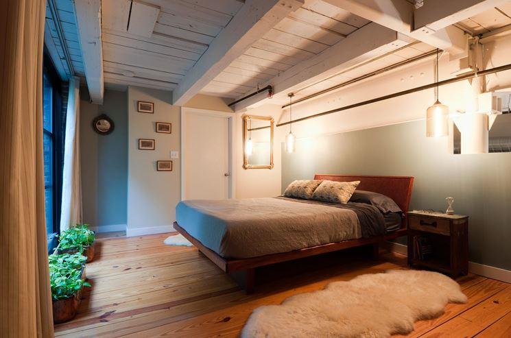 soppalco camera da letto