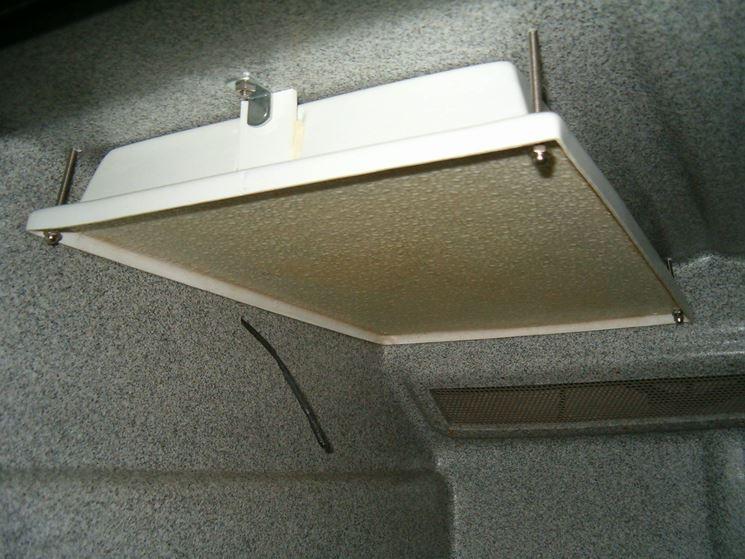 I pannelli radianti a soffitto sono molto economici
