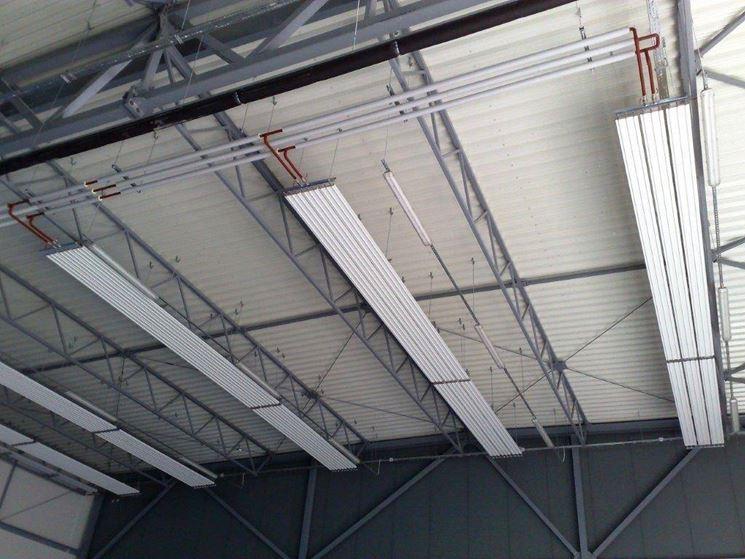 I pannelli radianti non andrebbero usati per soffitti troppo alti