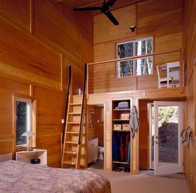 Quanto costa un soppalco in legno il controsoffitto - Soppalco in legno autoportante ...
