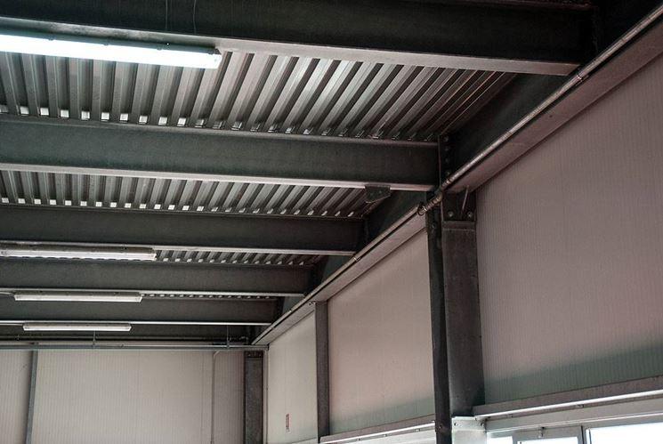 Realizzare un soppalco in acciaio il controsoffitto for Pannello radiante infrarossi amazon