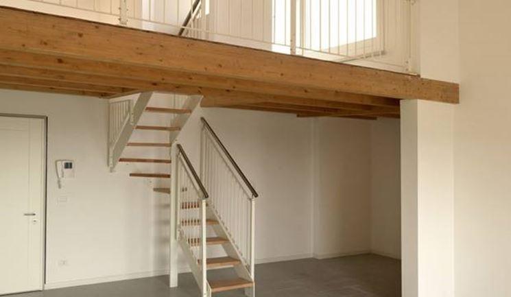 Scale da soppalco il controsoffitto tutto sulle scale for Costruire una scala in legno per soppalco