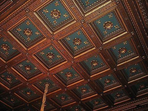 Soffitti a cassettoni il controsoffitto i principali soffitti
