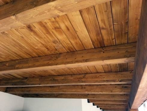 Soppalco in legno lamellare il controsoffitto tutto for Soppalco in legno lamellare