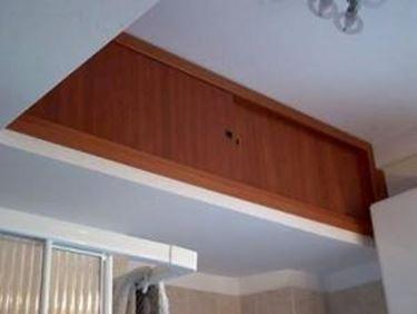 Soppalco ripostiglio il controsoffitto tutto sul for Costruire uno scuro in legno