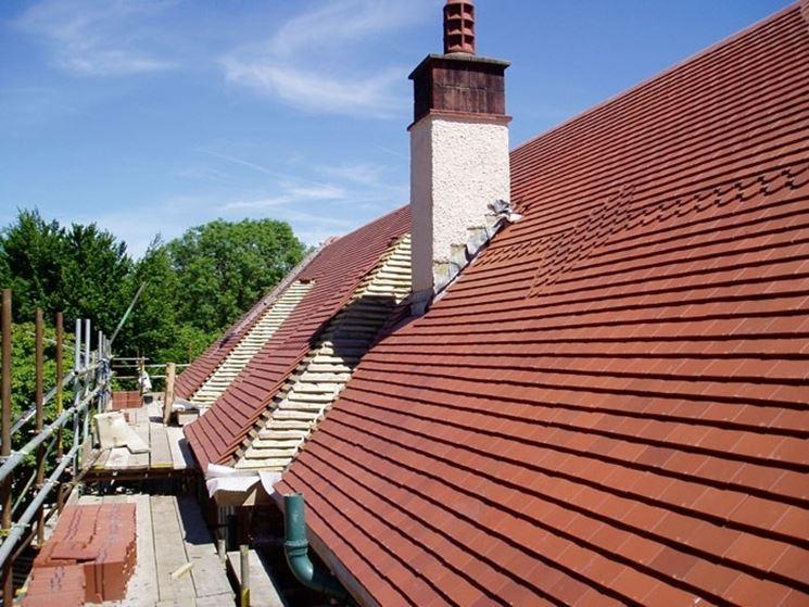 Manto di copertura di un tetto