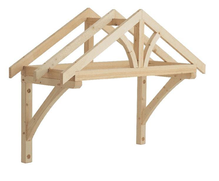 Struttura tettoia per ingresso
