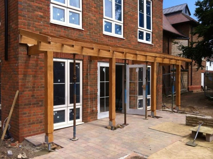 Come costruire una tettoia il tetto tettoie materiali for Materiali da costruzione della casa