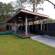 costruire tettoia in legno