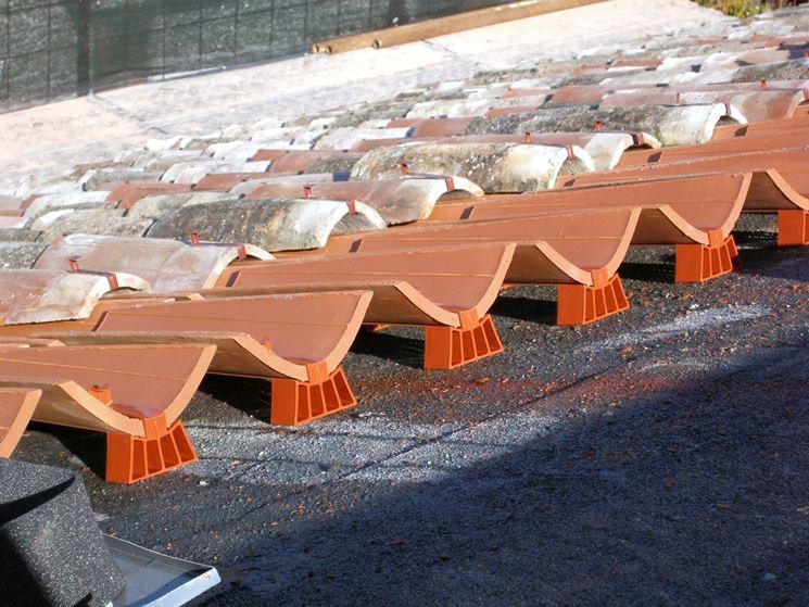 Realizzazione di un tetto ventilato