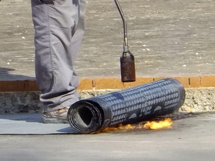 impermeabilizzazione tetto guaina bituminosa