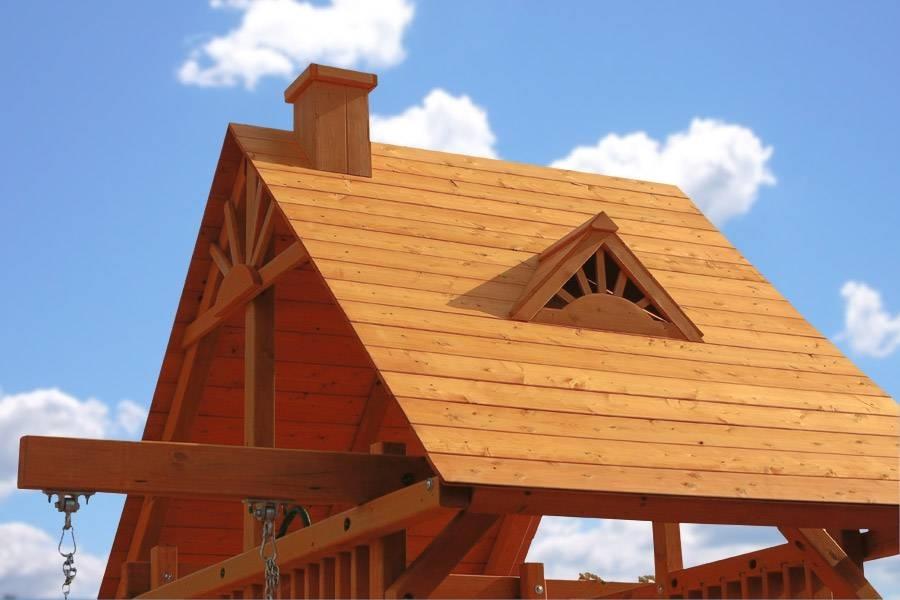 Realizzare un tetto in legno lamellare - Il Tetto - Realizzare un tetto in legno lamellare