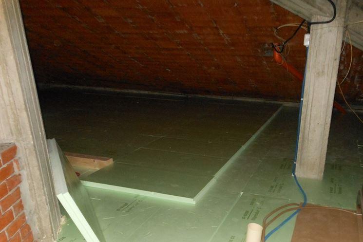 Isolante termico in pannelli