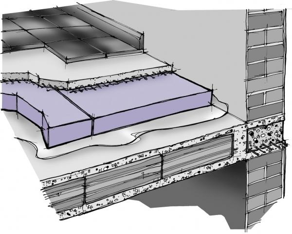 Costo isolamento termico solaio isolamento pareti for Costo del solarium per piede quadrato