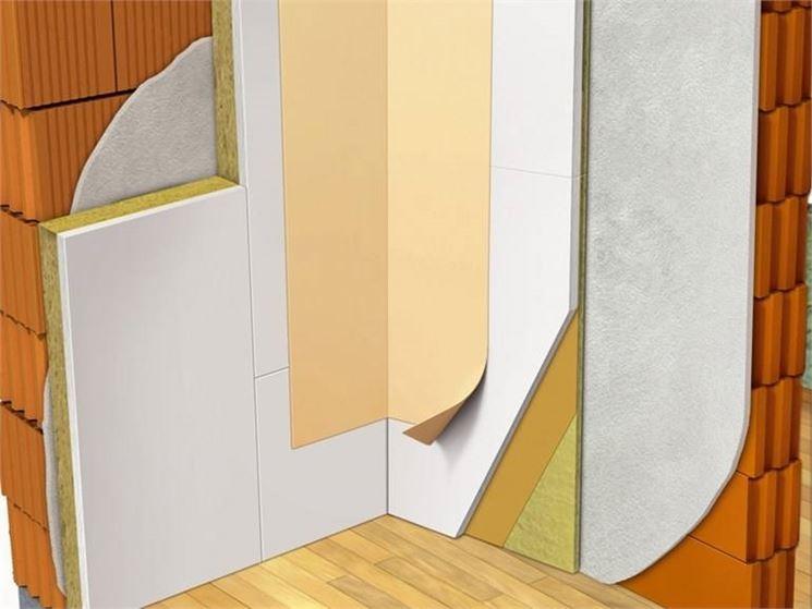 Isolamento termico attraverso il cappotto interno isolamento