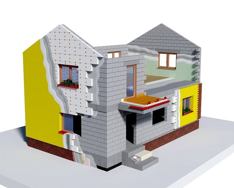 Materiale per isolamento termico isolamento pareti - Materiale isolante termico ...