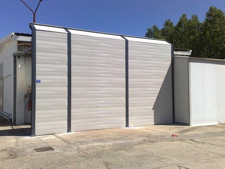 Pareti fonoassorbenti isolamento pareti pareti - Barriere antirumore per terrazzi ...