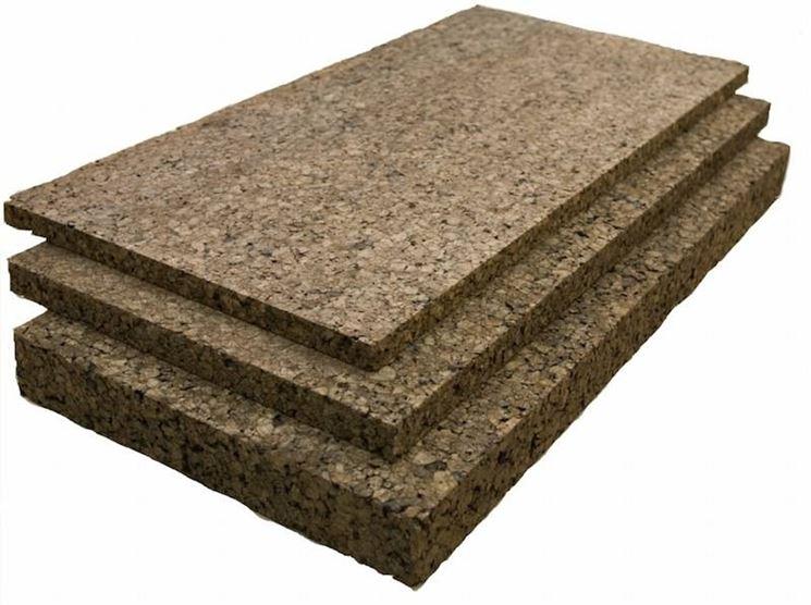 Il sughero è ottimo per i pannelli isolanti usati in edilizia
