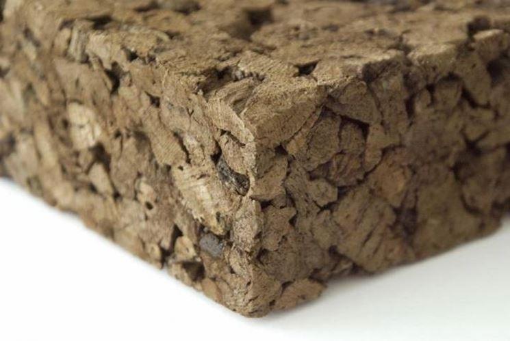 Il sughero biondo viene largamente impiegato nel cappotto termico