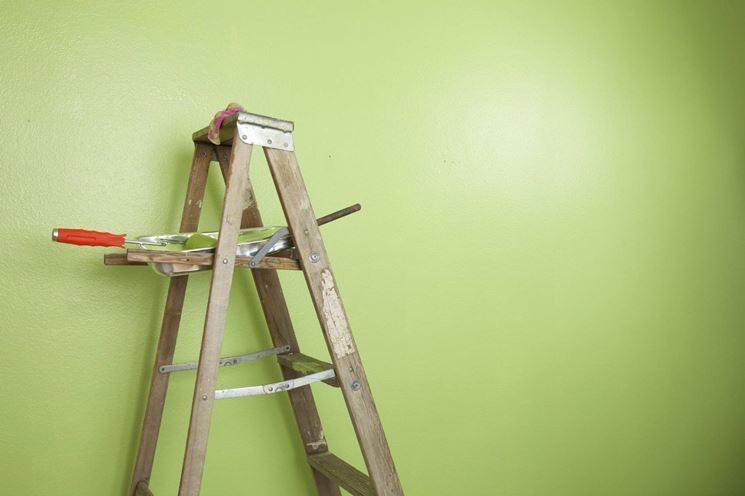 Pitturare la parete con il rullo