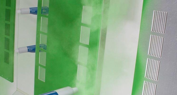 Verniciatura a polvere automatizzata