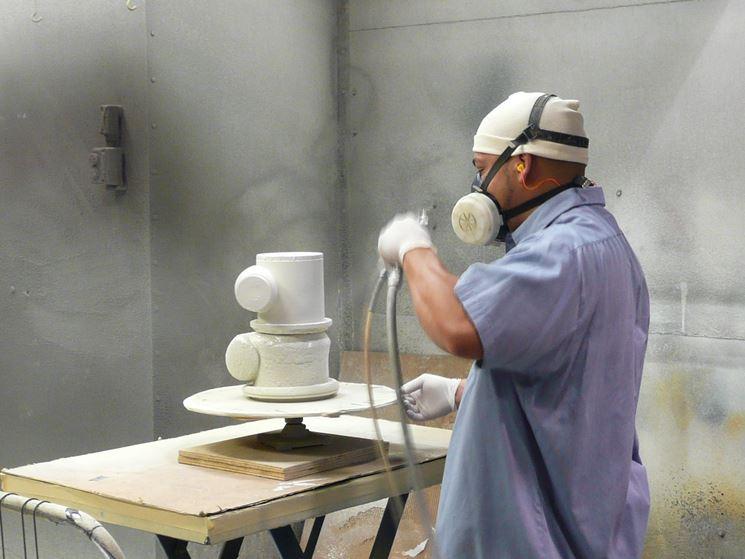 Verniciatura a polvere professionale