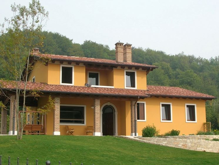 Colori per pitturare casa esternamente semplice e - Esterno casa colore ...
