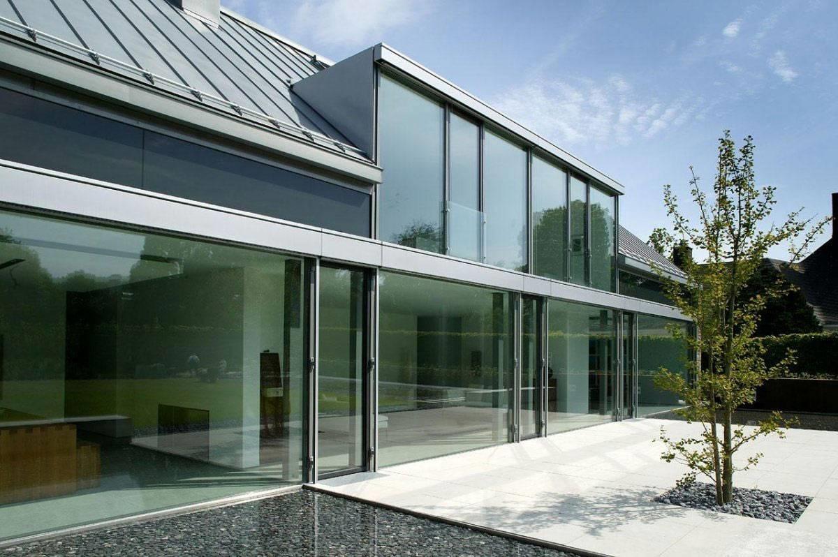 Come realizzare pareti vetrate le pareti divisorie - Pareti vetrate esterne ...